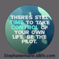 Take control of your life, motivate yourself and get healthy!