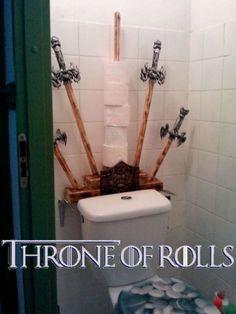 Game of Thrones Toilet Paper Holder - Neatorama