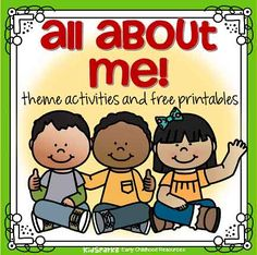 All About Me preschool theme activities and free printables - KIDSPARKZ Preschool Themes By Month, All About Me Activities For Preschoolers, Preschool About Me, Preschool Family Theme, Senses Preschool, Get To Know You Activities, Kindergarten Themes, Preschool Learning Activities, Toddler Activities