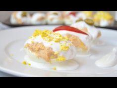 Huevos Rellenos de Atún | Recetas de cocina fáciles - YouTube
