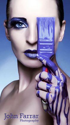 paint it lila. Purple Love, All Things Purple, Purple Rain, Shades Of Purple, Color Photography, Beauty Photography, Portrait Photography, Fashion Photography, Foto Fashion