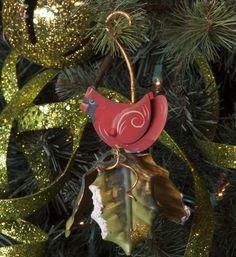 Cardinal Bell Ornament -- $9. #christmas #ornaments