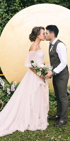 Maternity Wedding Dresses For Moms-To-Be ❤ See more: http://www.weddingforward.com/maternity-wedding-dresses/ #weddings