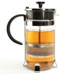 2-in-1 Duet French Coffee Press and Tea Infuser.