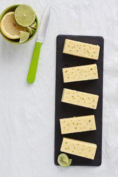 Flan de queso a los cítricos