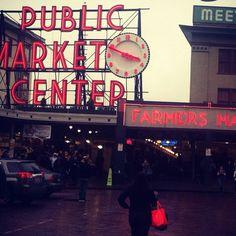 Public Market in Seattle, Washington.