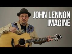 "How to Play ""Imagine"" by John Lennon on Guitar - Acoustic Guitar Lesson - YouTube"
