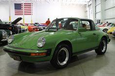 1978 Porsche 911 in olive green