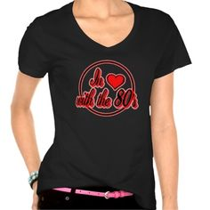 In Love With The 80's Red Logo T-Shirt