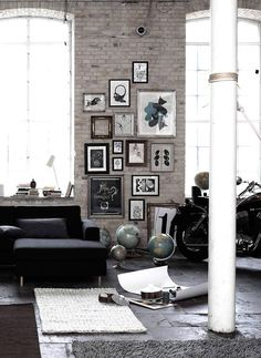 Inside the Lines: alles im Rahmen - Wände mit Bildern dekorieren: die richtige Hängung 5 - [SCHÖNER WOHNEN]
