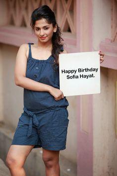 Happy Birthday Sofia Hayat
