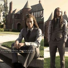 Love the professional dreadlocks Butch Fashion, Queer Fashion, Tomboy Fashion, Women's Fashion, Fashion Ideas, Lesbian Outfits, Tomboy Outfits, Chic Outfits, Androgynous Women