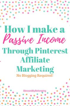 Work at home during your free time and earn a passive income through Affiliate m Earning Money, Make Money Blogging, Way To Make Money, Online Work From Home, Work From Home Moms, Write Online, Apps, Earn Money From Home, Pinterest For Business