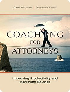 Dan Defoe is an attorney with 20+ years of experience and an MS degree in organizational development psychology. He writes a very informative blog that has much to offer in the way of resources for attorneys and law firms.  He has written a wonderful and comprehensive review of our book - Coaching for Attorneys:  Improving Productivity and Achieving Balance.  If you are wondering whether to buy the book, this review will help.