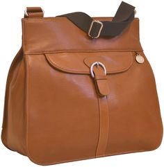 PacaPod Coromandel | leather change bag | unisex satchel