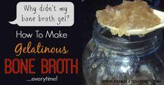 Why Didn't My Bone Broth Gel - PrimallyInspired.com
