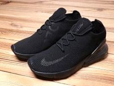 Adaptable Nike Air Max 270 Retro All Black Men's Sneaker Shoes Casual – Tennis Shoe Outfit Winter Casual Sneakers, Sneakers Fashion, All Black Sneakers, Casual Shoes, Shoes Sneakers, Fashion Boots, Fashion Clothes, Men's Shoes, Tennis Shoes Outfit