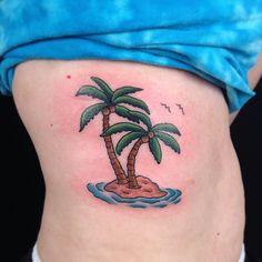 palm+tree+tattoos