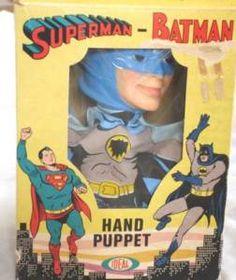 batman 1966 stuff | 1966 Batman Hand Puppet in Box Ideal Toy Vintage RARE | eBay