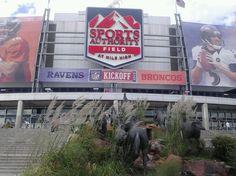 Mile high stadium in Denver, CO