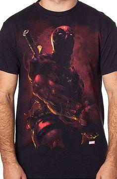 Hyper Real Deadpool T-Shirt