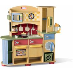 Little Tikes Deluxe Wooden Kitchen