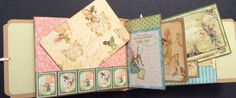 Graphic 45 PREMIUM Paper Bag Mini Album by PaisleyPlaceDesigns