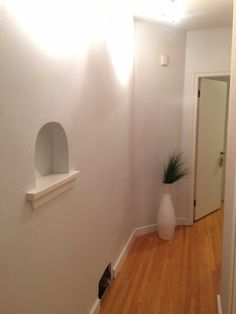 The hallway (CIL: The Plaza)