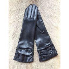 Damen 100% Echt leder Handschuhe