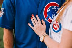 Chicago Cubs Engagement Photos