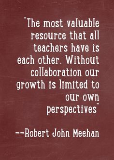 Quote 14 | Flickr - Photo Sharing! True, true! As hard as it is teaching 1st grade this year, for the first time in 13 years...the fellow 1st grade teachers I work with are awesome. They are my saving grace this year.