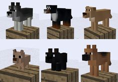 The Copious Dogs Mod for Minecraft adds many new features that improves and expands on the doggy lifestyle. Minecraft Mods, Minecraft Marvel, Minecraft Blueprints, Cool Minecraft, Minecraft Crafts, Minecraft Ideas, Crafting Recipes, Minecraft Tutorial, Cyberpunk Character