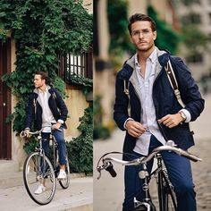 New on the blog🚲 M E S S E N G E R- feat. @boden_clothing // shop the look & see the editorial on iamgalla.com now (📸: @erald.kraja) link in bio! #bodenbyme