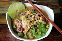 Veggie Pad Thai and Thyroid Facts | Maria's Nutritious and Delicious Journal