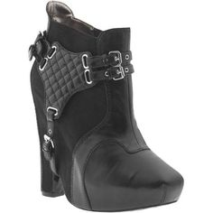 Sam Edelman Zoe Low Shaft High Heel Boots found on Polyvore