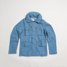 CNCPTS / Visvim Social Sculpture PDF Jacket Damaged (Light Indigo)