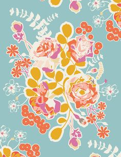 floral cascade by SweetBonnieChristine #etsy