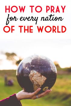 God wants to bring salvation and healing to the world. For that to take place we need to be praying for revival! Learn how you can pray for world with this simple tool and see God move in the nations.