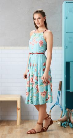 Só na Antix Store você encontra Vestido Midi Mar de Flores com exclusividade na internet