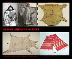 Gli Apache per proteggersi dal freddo usavano grandi coperte come mantelli. A causa del lungo contatto con altri popoli, essi utilizzavano spesso a questo scopo coperte di non loro fabbricazione (Pueblo, Navajo o Messicana). In controtendenza i gruppi più orientali, essendo cacciatori di bisonti, facevamo largo uso delle loro pellicce, le quali erano anche oggetto di un vivace commercio con le etnie limitrofe (altri Apache, Pueblo orientali).