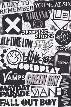 Bands! All Time Low ~ Sleeping With Sirens ~ The Neighborhood ~ 5 Seconds Of…                                                                                                                                                                                 More