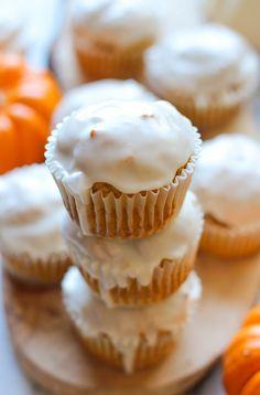 Pumpkin Doughnut Muffins - Damn Delicious