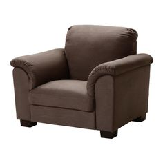TIDAFORS Chair - Dansbo medium brown - IKEA // I realllllly want this chair, but I don't know if it'll fit in my living room.