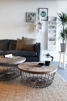 Salontafel New Glory - 70cm - Koper - By-Boo koopt u bij LiL.nl. ✓ Avond- en zondaglevering ✓ Voor 23:00 besteld, morgen in huis ✓ Gratis verzending vanaf €20.