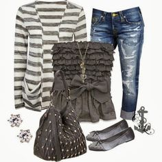 Outfit Ideas For Ladies... find more women fashion ideas on www.misspool.com
