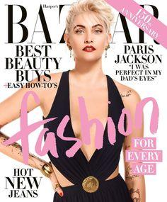 Paris Jackson by Jean-Paul Goude for Harper's Bazaar US April 2017 Cover