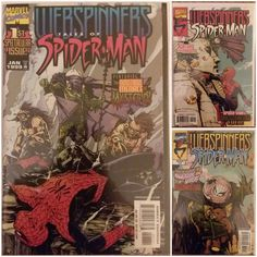 Webspinners Tales of Spider-man comic book run 1-9 lot Marvel comics Includes issues #1, 2, 3, 4, 5, 6, 7, 8, and 9 All in excellent condition and come individually bagged and boarded for protection Buy all you want pay only 3.75 shipping handl...