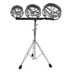 "Remo Remo 6/8/10"" Rototom Set with Stand (Remo 201221), Orff Timpani & Kettle Drums 