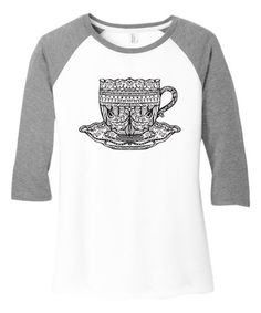 Take a look at this TKO tees White & Grey Frost Abstract Cup Raglan Tank today! Principals Of Design, Raglan Tee, Casual Wear, Frost, Preppy, That Look, Abstract, My Style, Tees