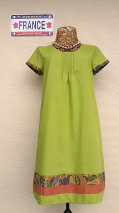 Dress batik 3N mix katun